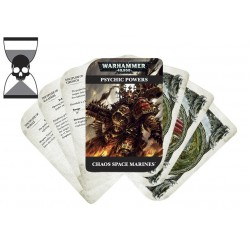 43-02-60 PSYCHIC CARDS:CHAOS SPACE MARINE:ENGLISH