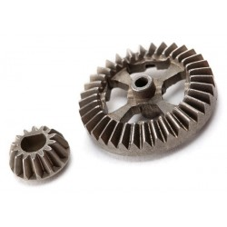 7683 Ring gear, differential/ pinion gear Metal