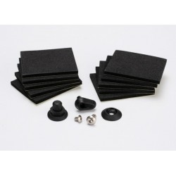 Hatch post/hull water outlet/foam pads (10)/ washer (1)