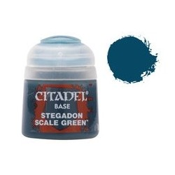 21-10 Citadel Base: Stegadon Scale Green