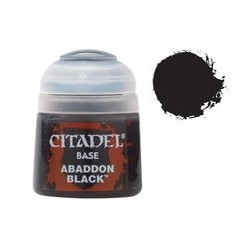 21-25 Citadel Base: Abaddon Black