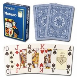 POKER PL 4 JUMBO BLUE
