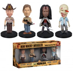 Mini Wacky Wobbler Set: The Walking Dead