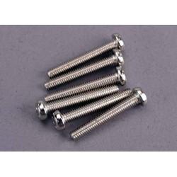 Screws, 3x20mm roundhead machine