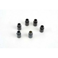 Spacers, shock (3x6.5x8mm) (6)