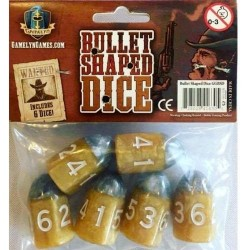 Bullet Shaped Dice: Tiny Epic Western