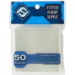FFG Square Game Sleeves 70x70 Blue