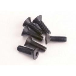 2551 Screws, 3x10mm countersunk machine