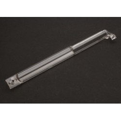 6741 Cover, center driveshaft (clear)