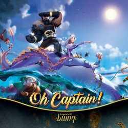 Pre-order Oh Captain! (ships June)