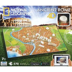 4D Cityscape NG Ancient Rome Puzzle (570+pcs)