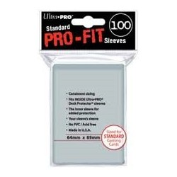 Pro-Fit Card Sleeves Standard