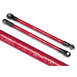 5319X Y7 DB Push rod (aluminum) (assembled with rod ends) (red)