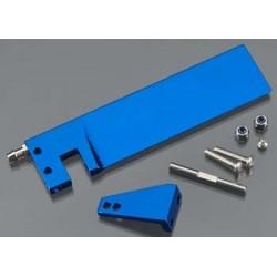 5740 BK Rudder/ rudder arm/ hinge pin/ 3x15mm BCS (stainless)