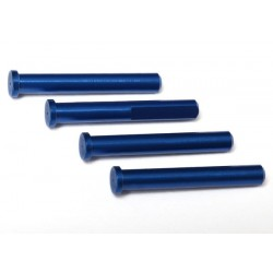 Main shaft, 7075-T6 aluminum, blue-anodized (4)