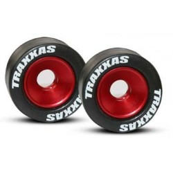 5186 D5 - Mounted Wheelie Bar Tires/Wheels